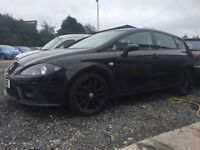 5 Door Seat LEON Black - 55 Reg- with Private number plate £2000 Available now to view