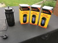 Fly & Insect killers (electric) - 3 new + 2 used (Price is for all 5)