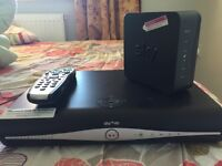 Sky PLUS HD BOX , Sky Remote and Wireless router