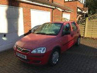 Car 2005 Vauxhall Corsa 1.2 Excellent condition and long mot