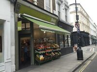 Looking For a Cashier & Greengrocery Floor Staff In Nottinghill W2