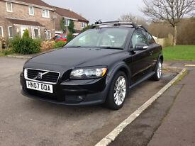 Volvo C30 2007 Black Full Leather Interior 112K miles full service hist.