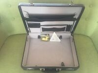 Real Antler Leather briefcase only used a couple of times in really good condition was £109 new.