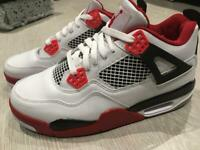 Jordan 4 retro fire red GS