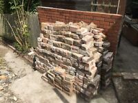 Free Bricks, imperial size, mostly exterior some interior. Free to Collect