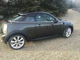 Mini cooper coupe 1.6 Sat Nav -Low mileage 30 000 miles