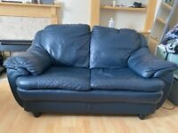 Leather Couch - 2 seater good condition