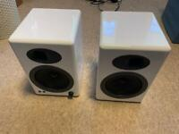 Audio Engine A5 White Speakers