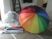 14 Brand New Wedding Umbrellas!