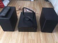 Pioneer X-HM11-K Mini Stereo System