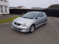 Honda civic 1.7 diesel full m.o.t