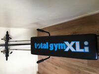 Total Gym XLi and Weider Bench