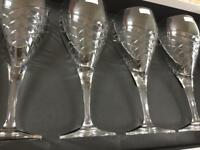 Royal Doulton wine glasses x4