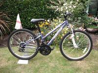"""Boys / Girls Apollo XC24 Mountain Bike - 12"""" Frame - 24"""" Wheels - 18 Gears"""