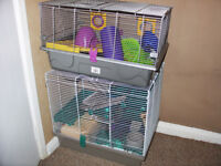 Hamster Cages 2 of they can be sold separate in good condition.