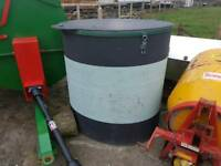Choice of two solway farm recycling bins tractor
