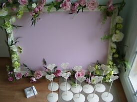 Wedding Seating/Table Planner + Table Name Holders + Pen Set