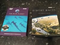 Blue Planet and Planet Earth DVD