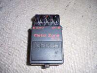 Boss MetalZone distortion pedal