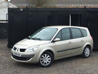 ★ 2008 RENAULT GRAND SCENIC 1.6L + 7 SEATER + ALLOYS + STEERING CONTROLS ★