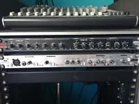DBX two channel studio rack compressor