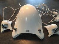 JBL Creature multi media speakers in white