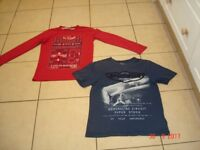 Red and Blue Tops