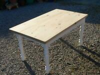 Vintage pine dining table seats 8