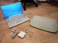 "Upgraded Macbook Pro ""Core 2 Duo"" 17"" 750GB / 4GB Ram - Hardly used."