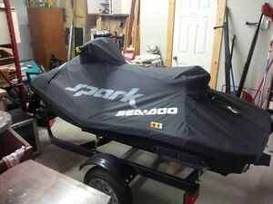 2015 Seadoo spark 2up 90 HO ACE with trailer