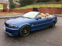 2002 BMW E46 AUTOMATIC CONVERTIBLE WITH M3 EXTRAS CHEAP BARGAIN AUDI FORD SKODA GOLF NISSAN TOYOTA