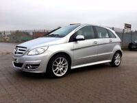 2010│Mercedes-Benz B Class 2.0 B200 CDI Sport CVT 5dr│2 Former Keepers│Full MBenz Service History