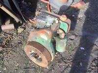 Lister single cylinder diesel dumper engine