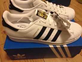 Men's trainers adidas superstar size 11.5