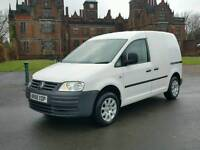 2008/58 Volkswagen VW Caddy 1.9TDI 104 BHP 11 MONTHS MOT TEST IN IMMACULATE CONDITION INSIDE OUT