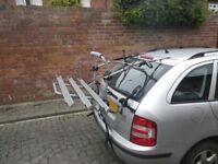 bike rack - 3 bikes - no tow bar required