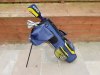Junior Dunlop glof club set with bag and stand