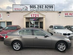 2011 Infiniti G25X AWD, Leather, Sunroof, WE APPROVE ALL CREDIT