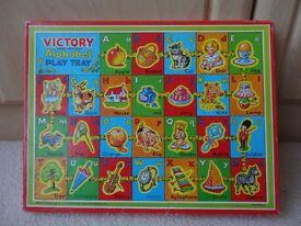 Victory Alphabet Play Tray