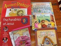 BIBLE STORY & ACTIVITY BOOK BUNDLE X 5 BOOKS