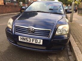 Offers welcome Toyota Avensis low mileage not honda volkswagen mercedes audi