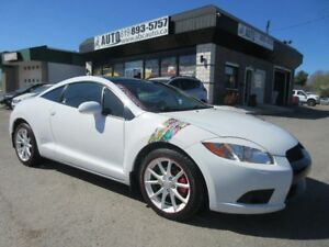 2012 Mitsubishi Eclipse GS, 2 Dr, Automatic, Backup Camera, Heat