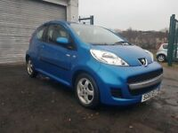 2010 Peugeot 107 Millesim 1.0, 3 month warranty, MOT October Service History, Cheap car,
