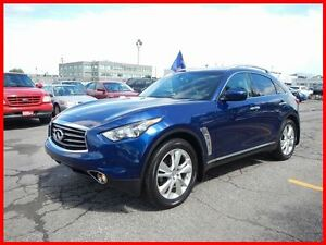 2013 Infiniti Fx37 Navigation Technology Package Certified 0.9%