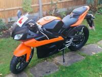 **REDUCED** Yamaha/Motorhispania rx 125r 125cc sportbike motorbike