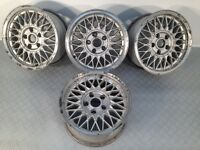 "BBS 15"" 7J 5x120 Deep dish, original alloy wheels, Classic wheels, not ats, azev tm"