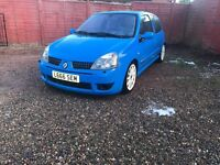 Renault Clio 182 full fat cup
