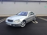 Mercedes-Benz S500L V8- Limo - Auto - Fully Loaded - 12 Months MOT