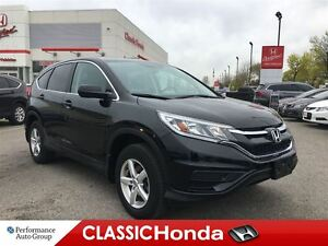 2015 Honda CR-V LX | ONE OWNER | BLUETOOTH | ECON | REAR CAM |