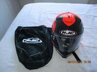 HJC Motorcycle Helmet Orange&black